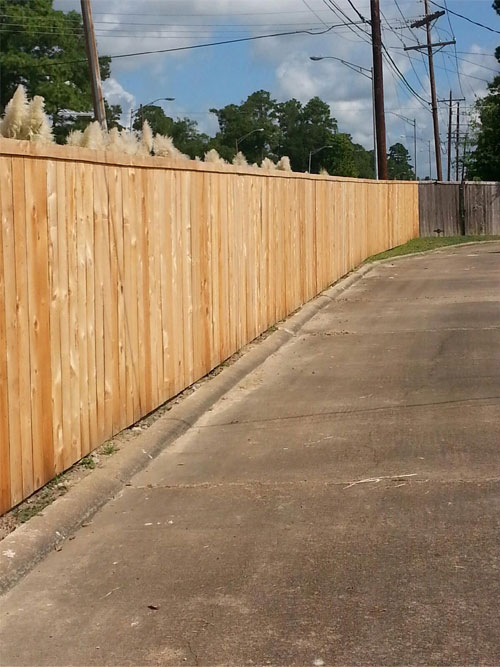 Beautex Fencing Economy Wood Fencing Wrought Iron
